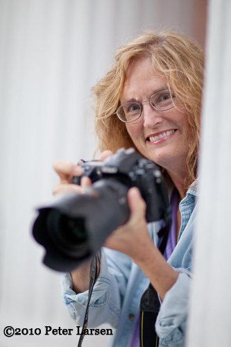 Photo of Carolyn Bates by Peter Larsen.